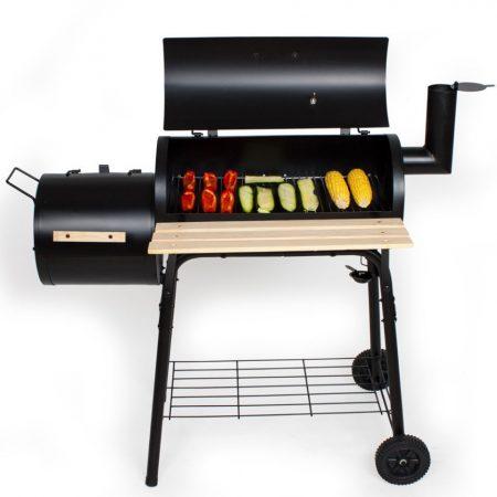 Mozdonygrill, Smoker füstölő mozdony formájú BBQ sütő