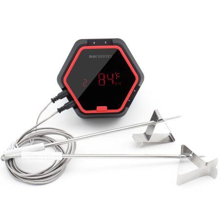 Füstölő hőmérő grillhőmérő smoker hőmérő 6 érzékelővel, bluetooth kapcsolattal