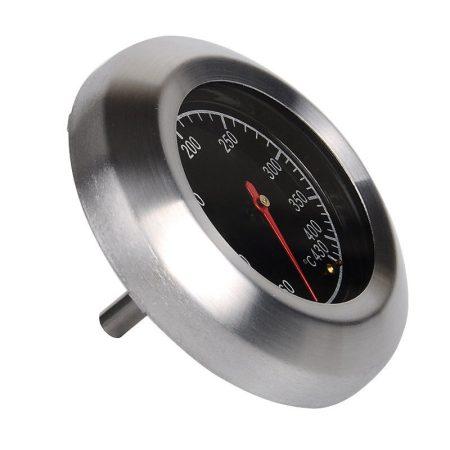 Grillhőmérő rozsdamentes füstölő smoker analóg hőmérő
