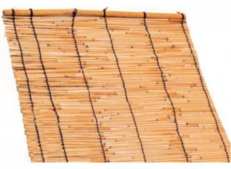 Árnyékoló elegáns vékony szálas nád takaró pergola 150x300 cm, féltető alá vagy ablakba, kerítésre