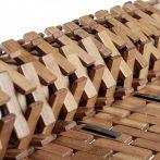 Bambusz kilépő fürdőszoba szőnyeg 50x80 natúr szín