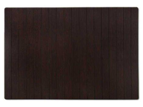 Fürdőszoba szőnyeg bambusz kilépő 60x90 barna szín