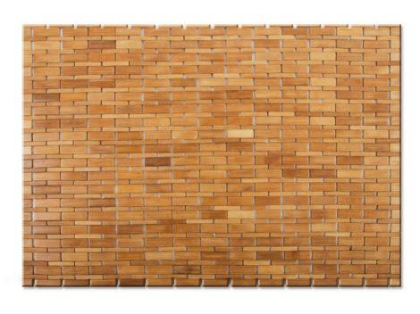 Floor 60x90 Fürdőszoba szőnyeg bambusz kilépő natúr szín