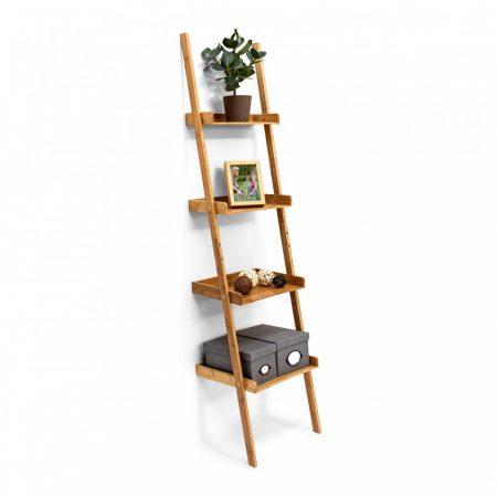 Bambusz létrapolc 4 szintes