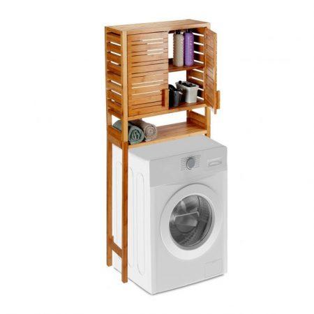 Bambusz szekrény mosógéphez