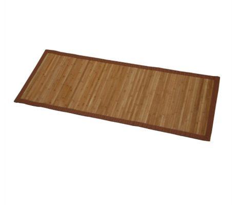 Bambusz szőnyeg szegéllyel, csúszásmentes