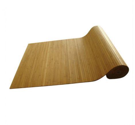 Bambusz szőnyeg tekercs, méretre vágható, csúszásmentes