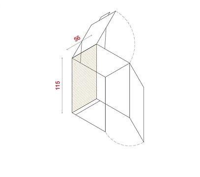 BioBox-115 Szemeteskuka tárolóhoz tartozó hátlap
