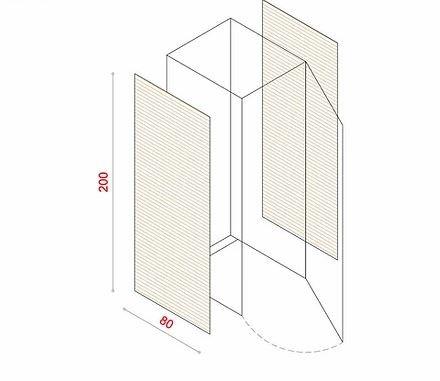 BioBox-200 Szemeteskuka tárolóhoz tartozó oldalsó panel