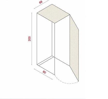 BioBox-200 Szemeteskuka tároló szekrény kukák borítására