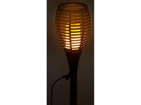 Földbe szúrható Led napelemes lámpa 6,12,24db rozsdamentes acél napelemes kerti lámpa