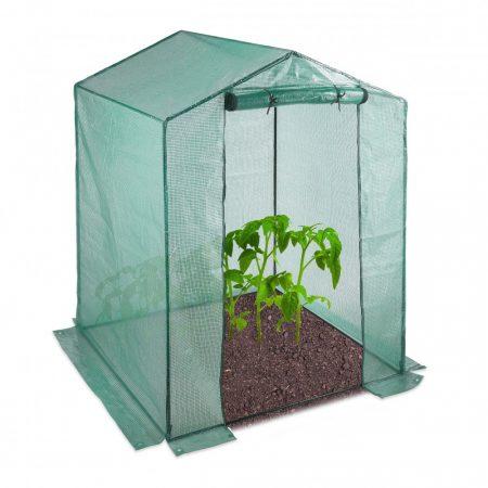 Üvegház fóliasátor zöldség, növény termesztéshez 200 x 155 x 155 cm