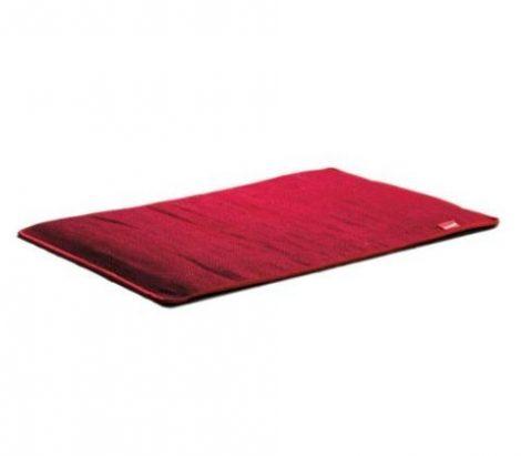 Fűthető lábtörlő tűzálló 50 x 75 cm 100 Watt Piros