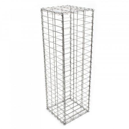 Gabion gablon kőkosár támfalnak, kerítéslábazatnak 100x30x50 - 5x10cm rács