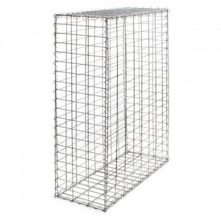 Gabion gablon kőkosár támfalnak, kerítéslábazatnak 150x30x100 - 5x10cm rács