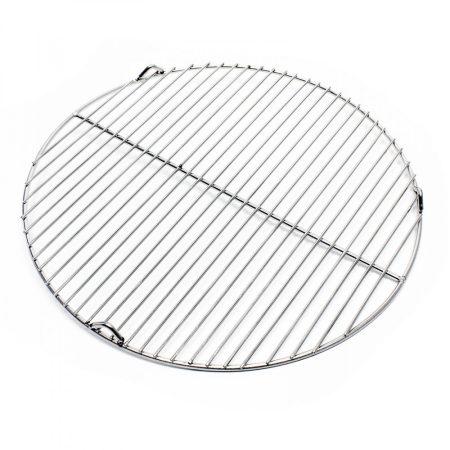 Rozsdamentes grillrács kerek 44,5 cm átmérőjű grillsütőhöz