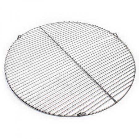 Rozsdamentes grillrács kerek 64,5 cm átmérőjű grillsütőhöz, inox saválló acél