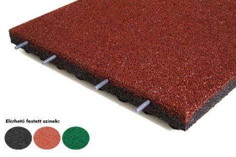 Játszótéri esésvédő gumilap 50mm vastag  több színben 500x500mm négyzet B50
