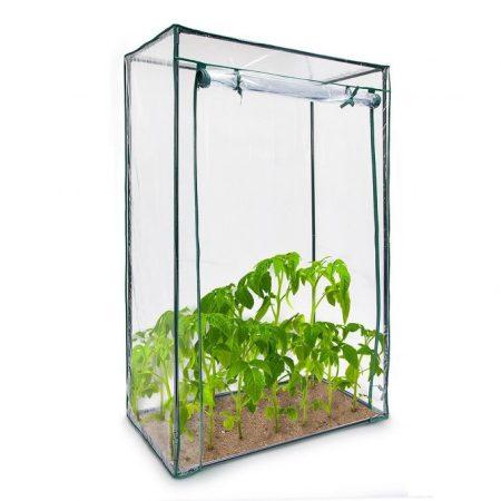 Üvegház növénytermesztéshez és neveléshez - hobby fóliasátor melegház 100x50x150