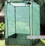 Üvegház növénytermesztéshez és neveléshez - hobby fóliasátor melegház zöld 100 x 150 / 130 x 100 cm