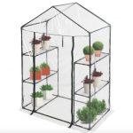 Üvegház növénytermesztéshez és neveléshez 143x72x198 cm - hobby fóliasátor