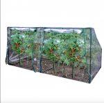 Üvegház növénytermesztéshez és neveléshez 190 x 89 x 50/90 cm - hobby fóliasátor