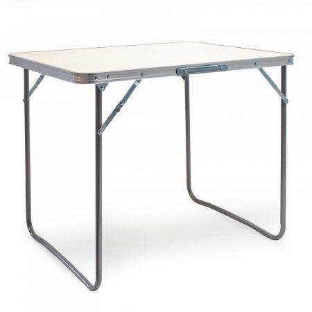 Összecsukható alumínium kerti piknik kemping asztal 80x60x70 cm