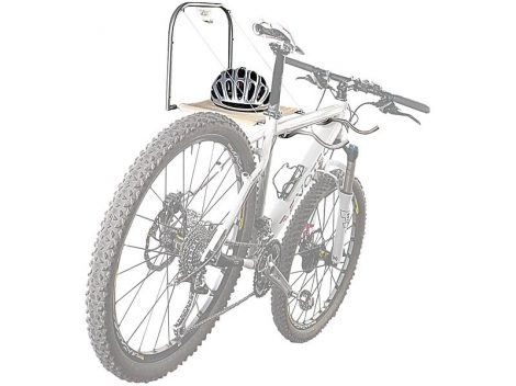 Fali kerékpártartó 2 biciklis számára