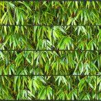Táblás kerítésbe fűzhető bambusz szalag 26 m hosszú 19 cm magas