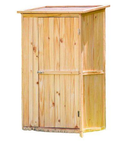 Kerti fészer, kis faház szerszámok tárolásához 92 x 57 x 154 cm