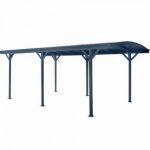 Alumínium autóbeálló, kocsi előtető 505 x 300 cm