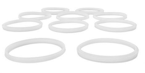 Tartalék tömítőgyűrű kolbásztöltő berendezéshez