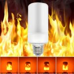 Lángot imitáló ízzó lámpa láng utánzó égő E14 5W