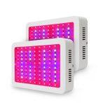 Növénylámpa Üvegház világítás növénynevelő LED fény 2000W extra UV és IR leddel