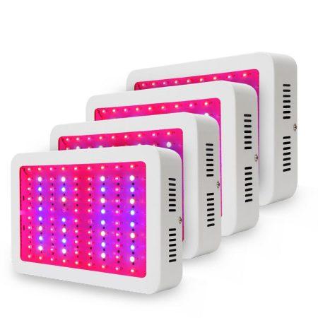 Növénylámpa Üvegház világítás növénynevelő LED fény 4000W extra UV és IR leddel