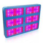 Növénylámpa Üvegház világítás növénynevelő LED fény 3000W extra UV és IR leddel