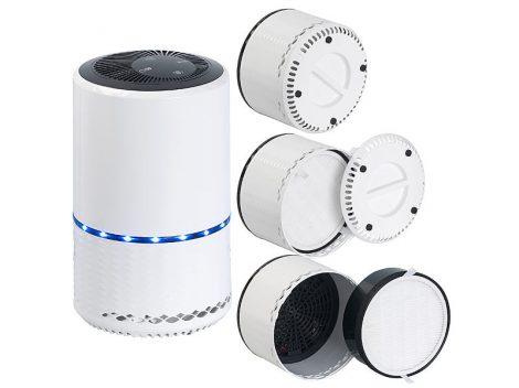 Légtisztító ionizátorral, 2az1-ben légszűrővel, Amazon Alexa és a Google Assistant vezérléssel
