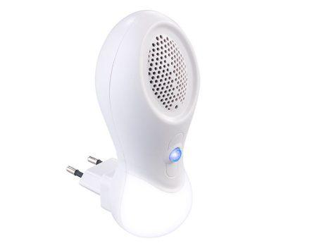 Ionizáló légtisztító és 3 W-os éjszakai LED-es éjszakai fénykészlet, 2 darab