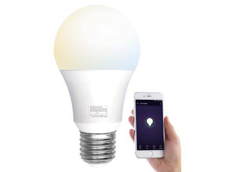 Okos világítás Luminea Home Control WLAN 9W fehér színhőmérséklet váltós lámpa White Ambiance hideg