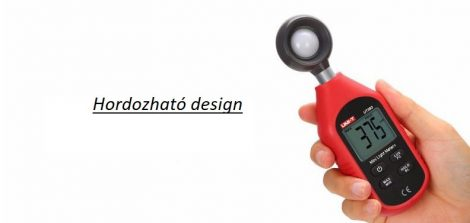 Digitális fénymérő kézi műszer luxmérő megvilágítás mérő 0-199999 Lux