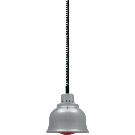 Étel melegítő lámpa alumínium, állítható magasságú, infravörös lámpákkal