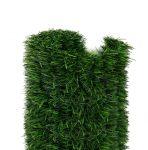 Erkélytakaró, kerítéstakaró belátásgátló zöld tűlevelű műsövény 300x150 cm korlát takaró háló élethű