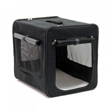 M méretű összecsukható hordozó kennel táska kutya, cica számára