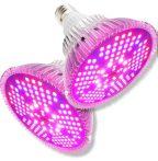 Üvegház világítás Növénylámpa növény nevelő LED 200W E27 foglalattal