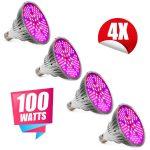 Üvegház világítás Növénylámpa növény nevelő LED 400W E27 foglalattal