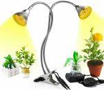 60W flexibilis csíptethető üvegház világítás NAPFÉNY jellegű