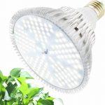 120W Növény lámpa üvegház világítás nappali fehér fénnyel full spektrumú virág nevelő LED E27