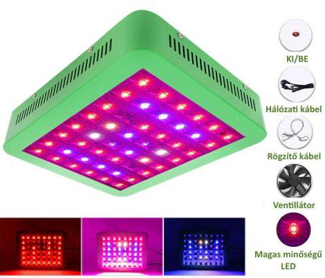 Növény lámpa Üvegház világítás Virág nevelő LED fény 300W UV és IR leddel
