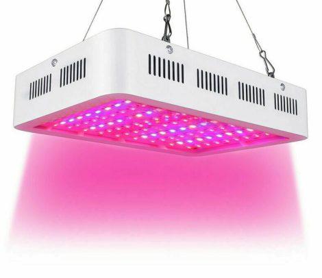 300W Növény lámpa Üvegház világítás Virág nevelő 60 LED fény UV és IR leddel