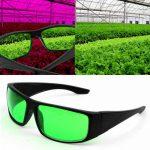 Növény nevelő lámpához ajánlott védő szemüveg UV-A, UV-B, UV-C és IR sugárzás ellen